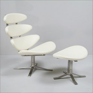 Volther Chair Replica in Beige White