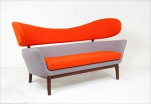Finn Juhl-Style Baker Sofa