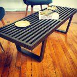 Nelson-Style Slat Bench