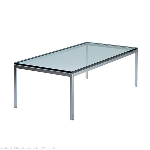 florence knoll: coffee table reproduction - rectangular