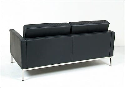 Comparison Guide Florence Knoll Loveseat and Sofa Modern