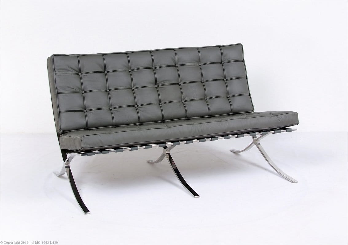 Inspired By: Mies Van Der Rohe Barcelona Loveseat
