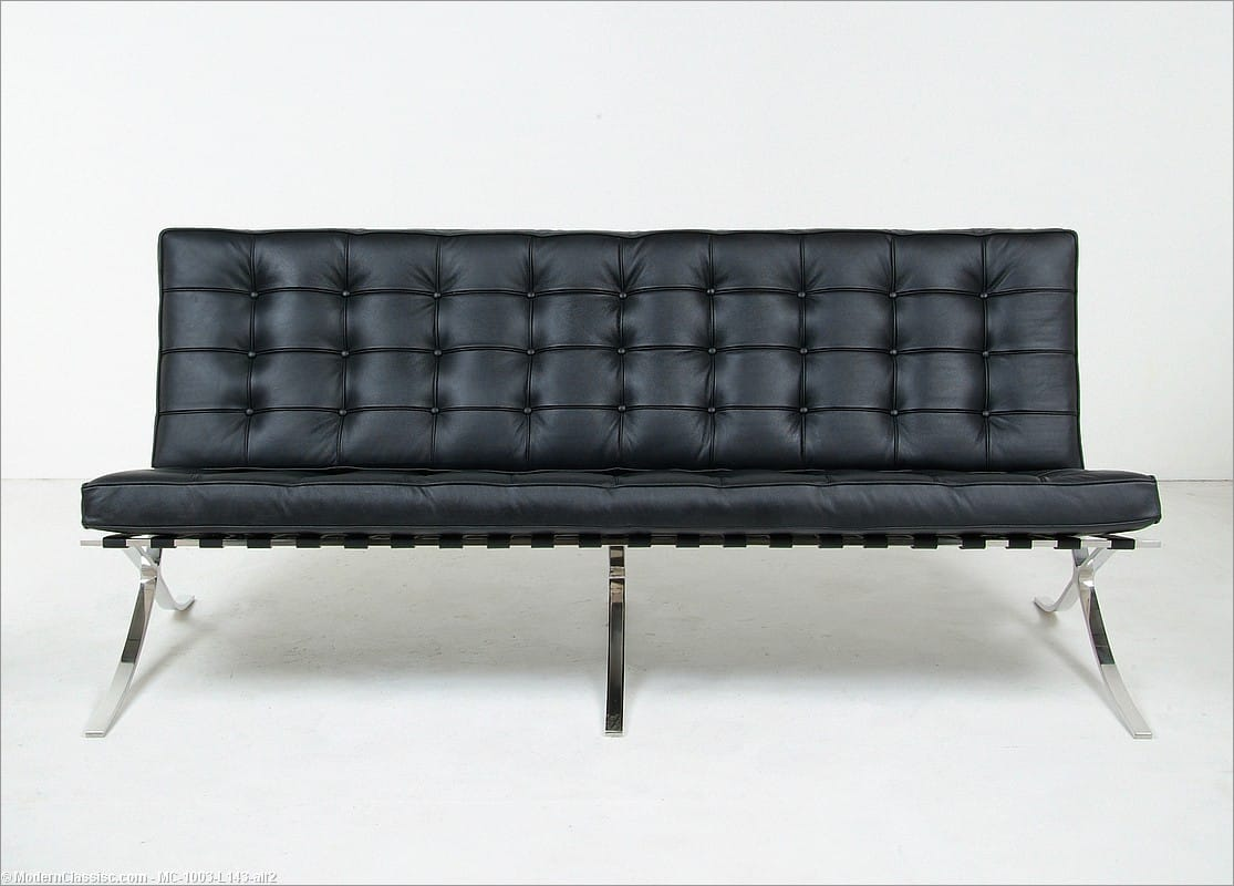 mies sofa sofa designed by mies van der rohe for knoll at 1stdibs thesofa. Black Bedroom Furniture Sets. Home Design Ideas