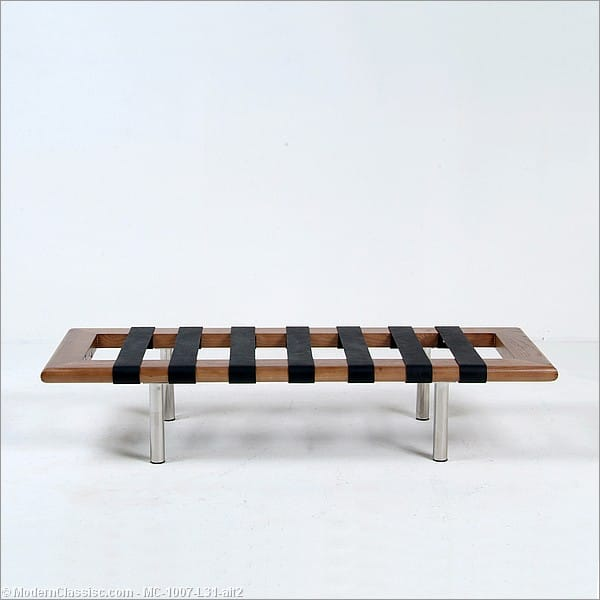 Mies Van Der Rohe Exhibition Bench Barcelona 2 Seat