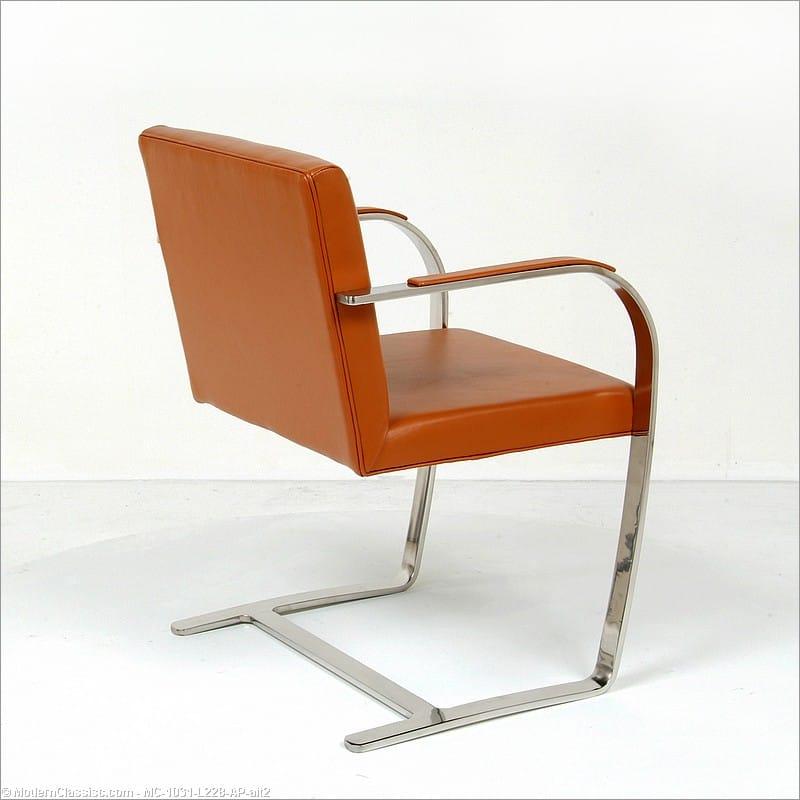 Mies Brno Chair mies van der rohe: executive guest chair: brno chair