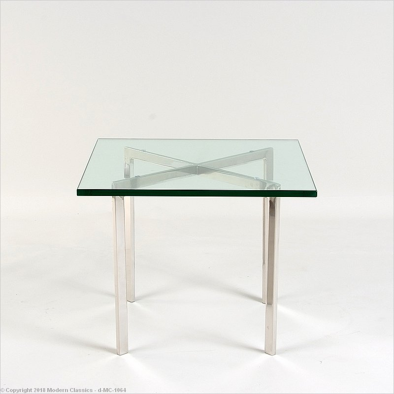 Attractive Mies Van Der Rohe Style: Exhibition Side Table