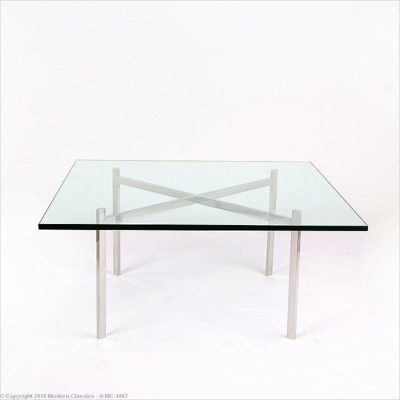 Barcelona Coffee Table Mies Van Der Rohe Modernclassics Com Mc 1067