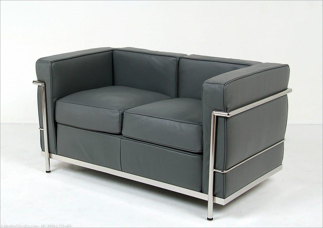 Le Corbusier Lc2 Petite Loveseat