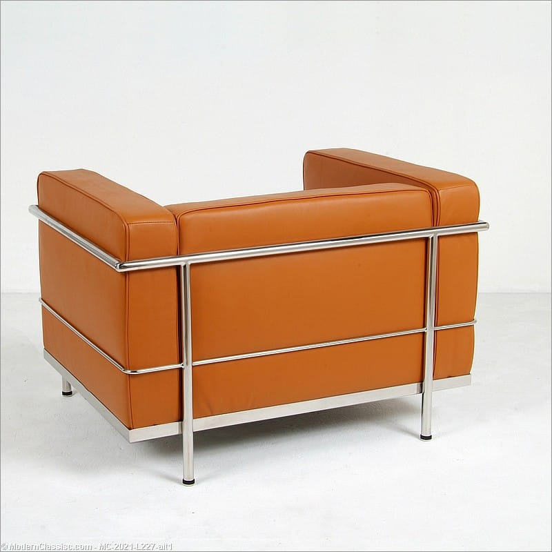 corbusier style grande lounge chair - Le Corbusier Chair
