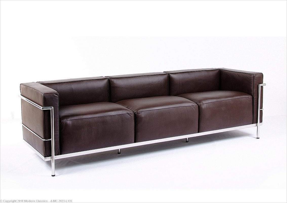 Charles Le Corbusier Sofa Grande Lc3 Sofa The Honoroak