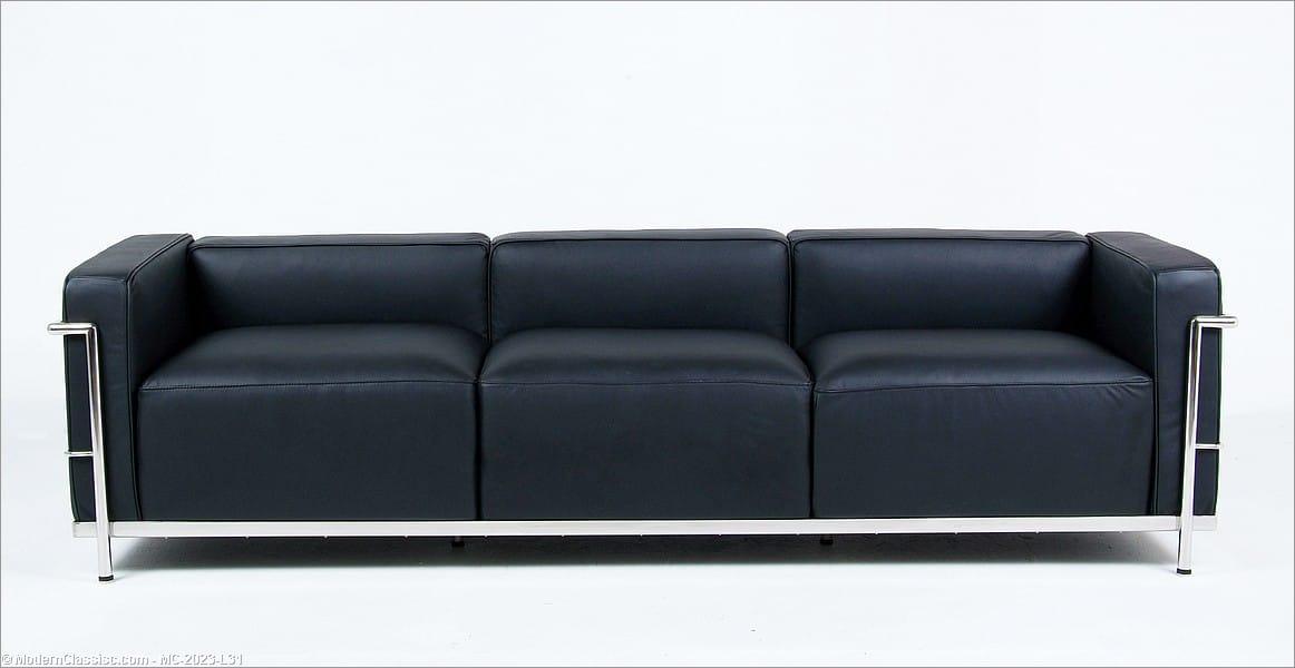 le corbusier lc3 grande sofa. Black Bedroom Furniture Sets. Home Design Ideas