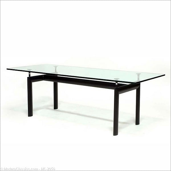 le corbusier lc 6 dining table. Black Bedroom Furniture Sets. Home Design Ideas
