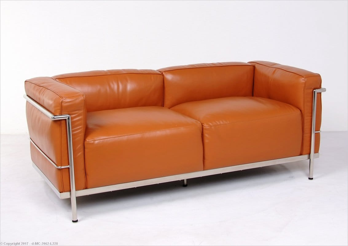 Inspired By: Corbusier LC3 Feather Wrapped Loveseat