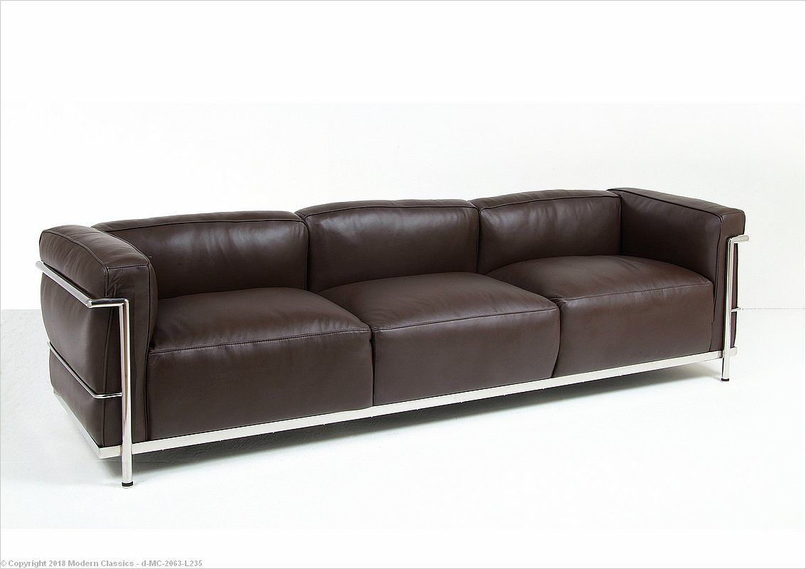 Inspired By Corbusier Lc3 Feather Wred Sofa