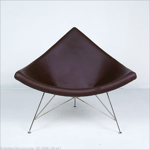 Nelson coconut chair leather - Coconut chair reproduction ...