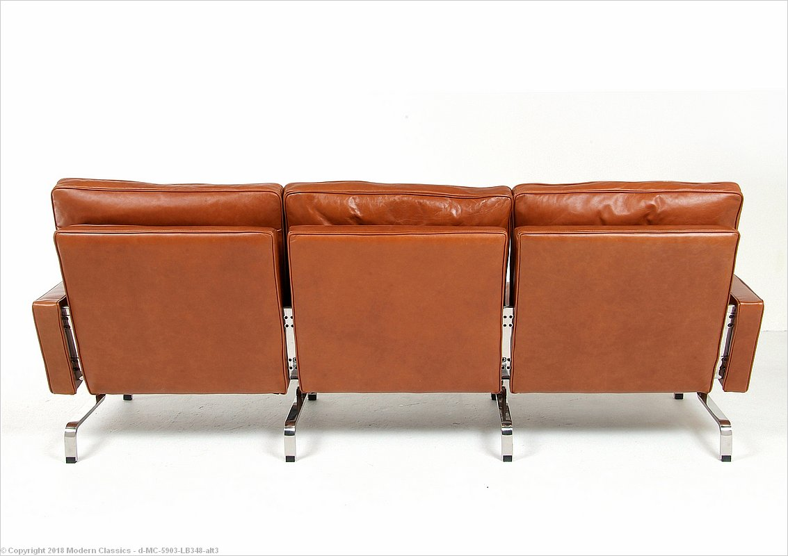 Kjaerholm Style: PK31 Sofa