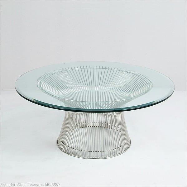Inspired By Warren Platner Round Coffee Table