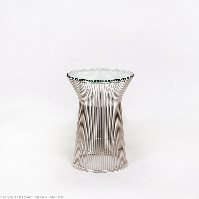 Inspired By Warren Platner Round Side Table Style Wire Frame