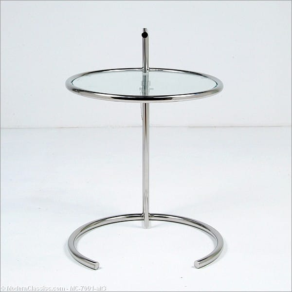 Eileen Gray Adjustable Side Table