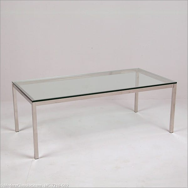 Florence knoll rectangular coffee table Florence knoll coffee table