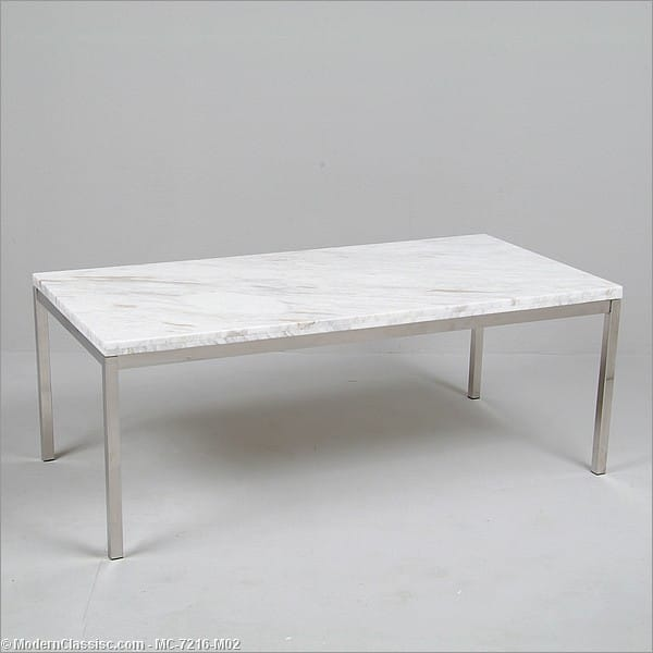 Florence knoll rectangular coffee table reproduction Florence knoll coffee table
