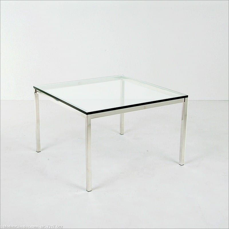 Florence Knoll Large Square Side Table Made And Sold By