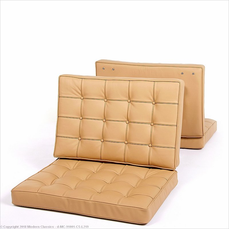 Barcelona Chair Replacement Cushion Set