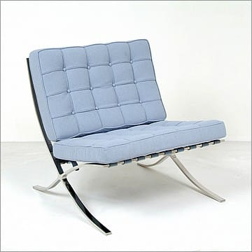 Mies van der Rohe Barcelona Chair in Fabric