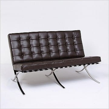 Mies van der Rohe Exbihition Loveseat