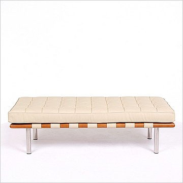 Modern Classics Barcelona Bench - Parchment