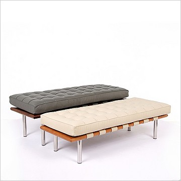 Modern Classics Barcelona Bench - Two Heights