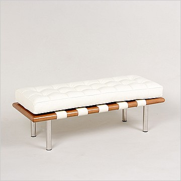 Modern Classics Barcelona Bench - Frame View 2