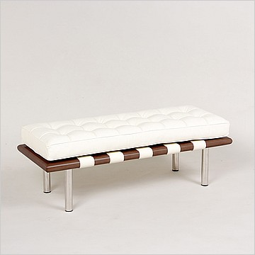 Modern Classics Barcelona Bench - Frame View 3