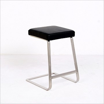 Mies Van Der Rohe Exhibition Counter Height Bar Stool