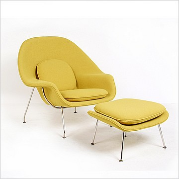 Saarinen Womb Chair - Chartreuse Green