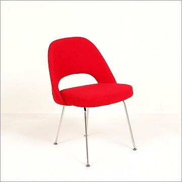 Saarinen side chair cayenne red replica - Saarinen chair replica ...