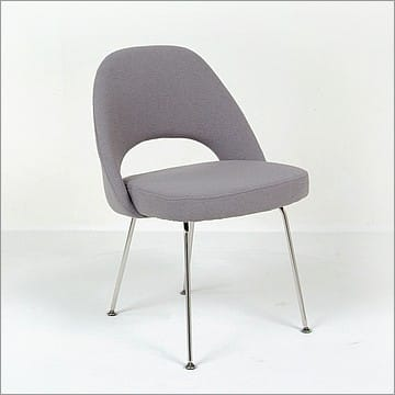 Saarinen Dining Chair Reproduction Smoke Gray
