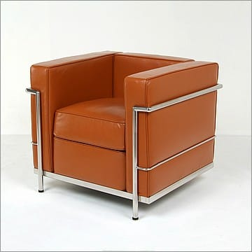 Superieur Le Corbusier Style LC2 Chair   Honey Tan   View 7