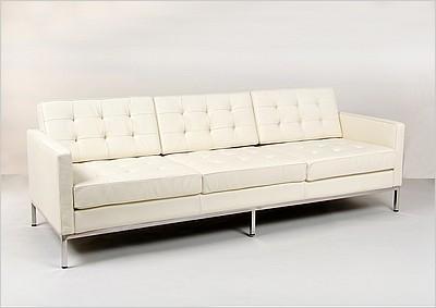 Florence Knoll Sofa Leather ModernClassicscom - Knoll sofa