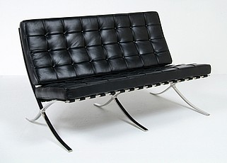 Bauhaus Exhibition Loveseat Reproduction