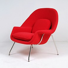 Saarinen Womb Chair - Red