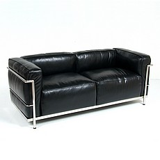 Le Corbusier LC3 Loveseat Replica