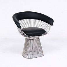 Platner Style Wire Frame Dining Chair