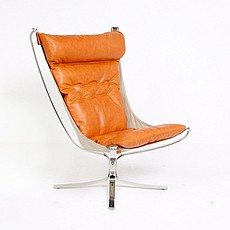 Sigurd Ressel Style Falcon Chair